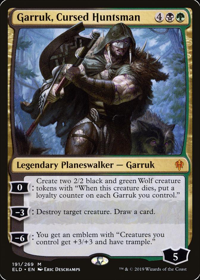 Garruk, Cursed Huntsman [ELD]