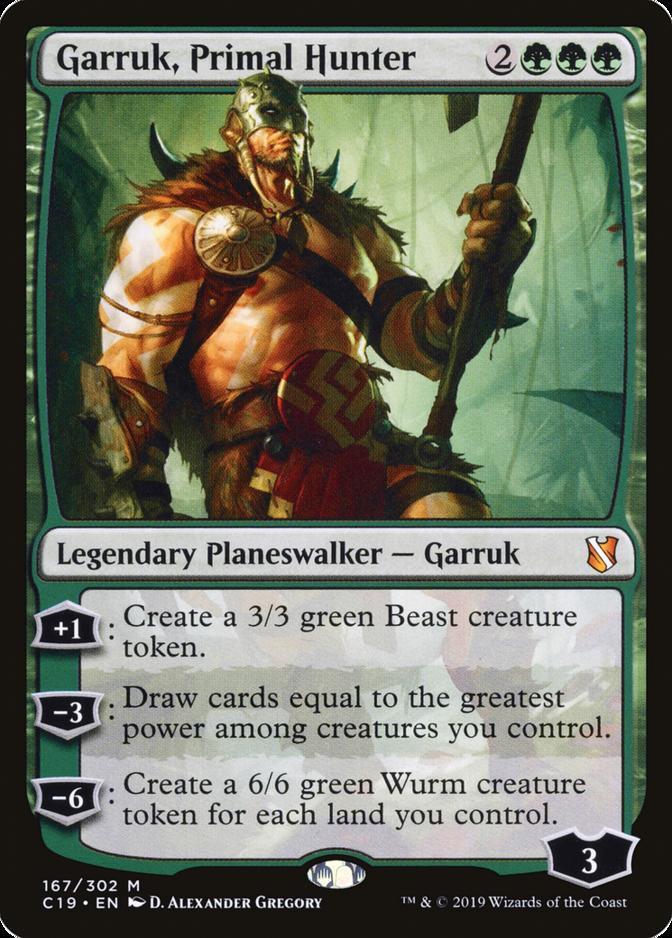 Garruk, Primal Hunter [C19]