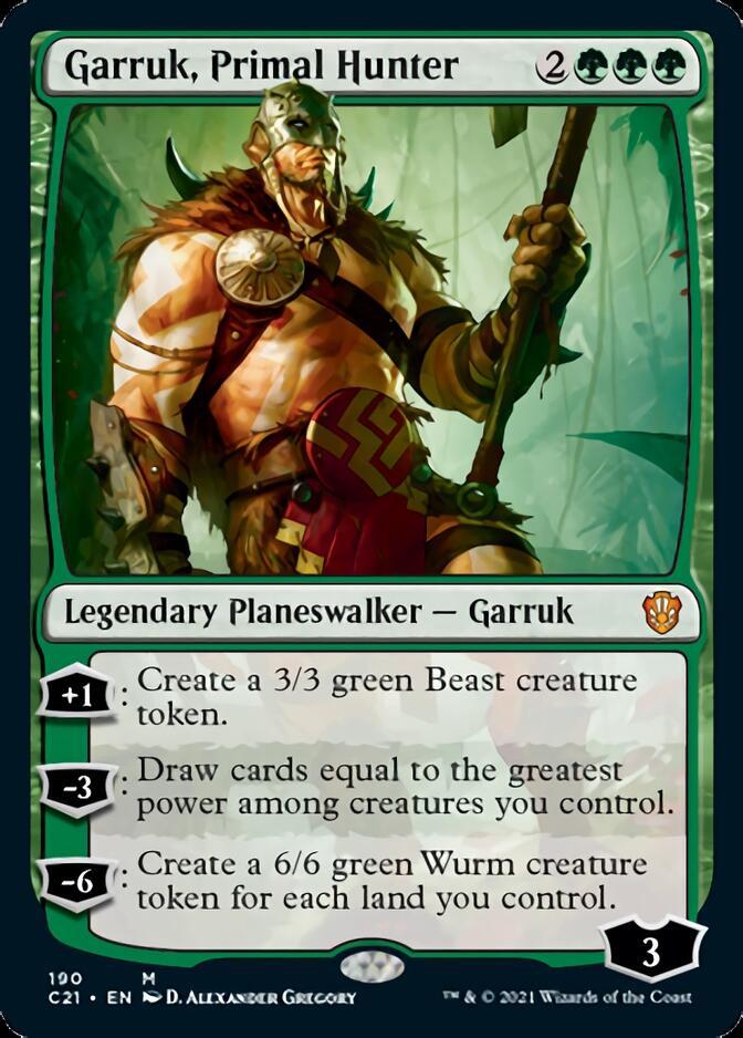 Garruk, Primal Hunter [C21]