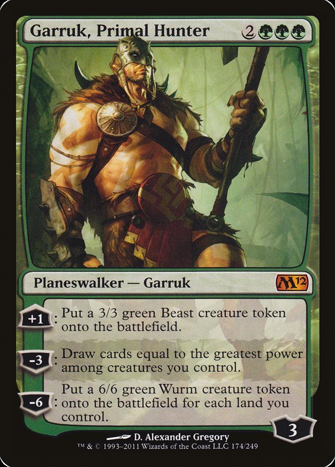 Garruk, Primal Hunter [M12] (F)