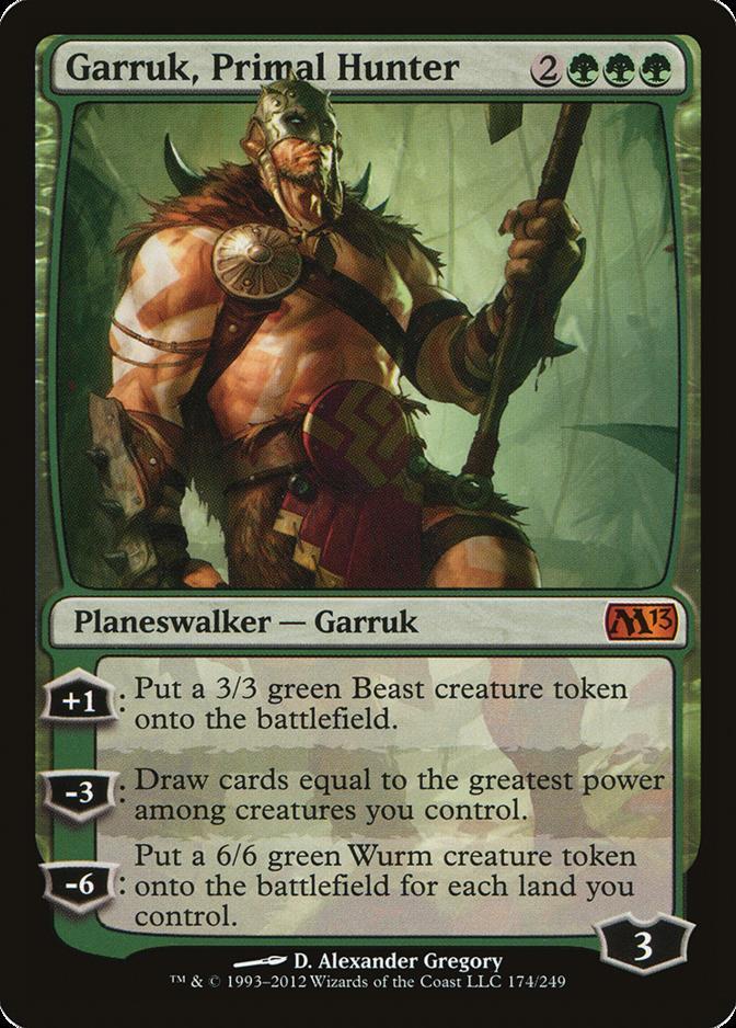 Garruk, Primal Hunter [M13]