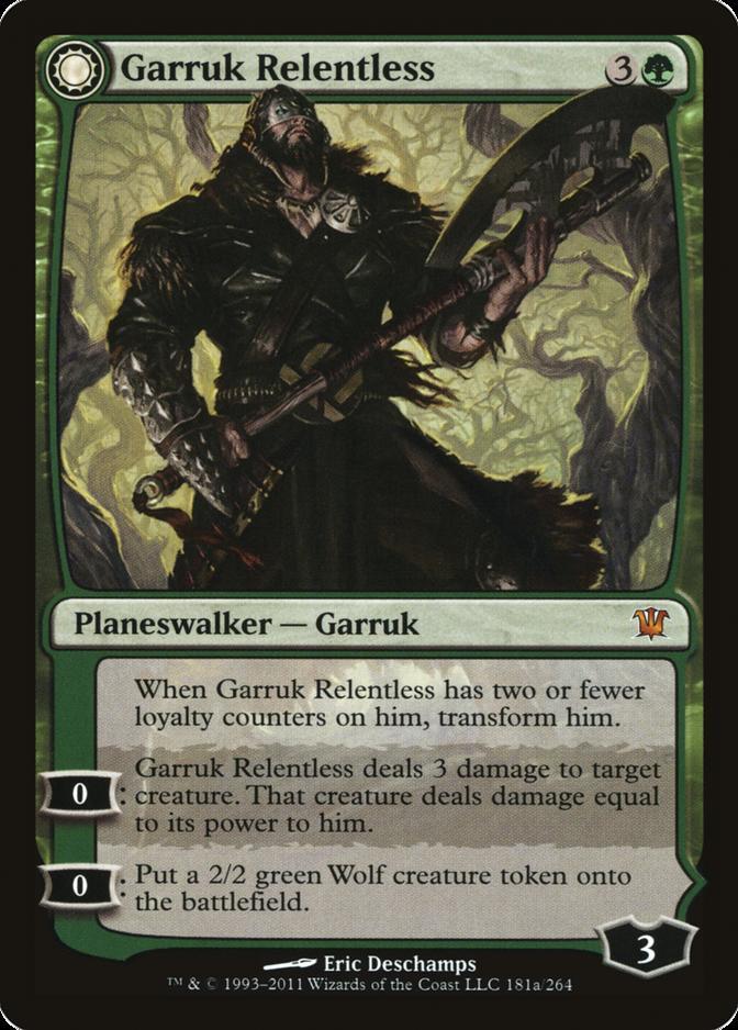 Garruk Relentless [ISD] (F)