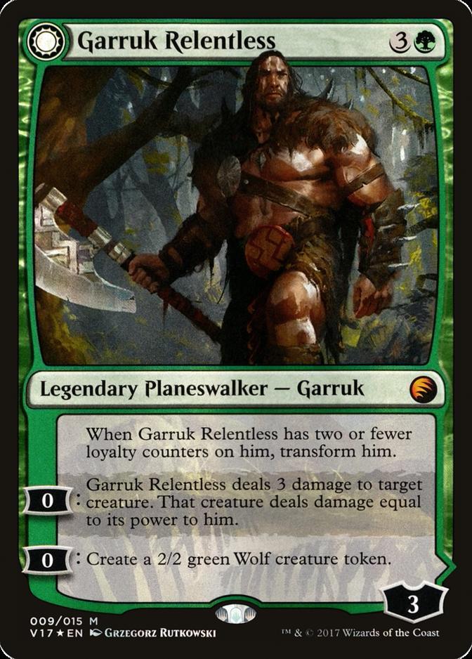 Garruk Relentless [V17] (F)