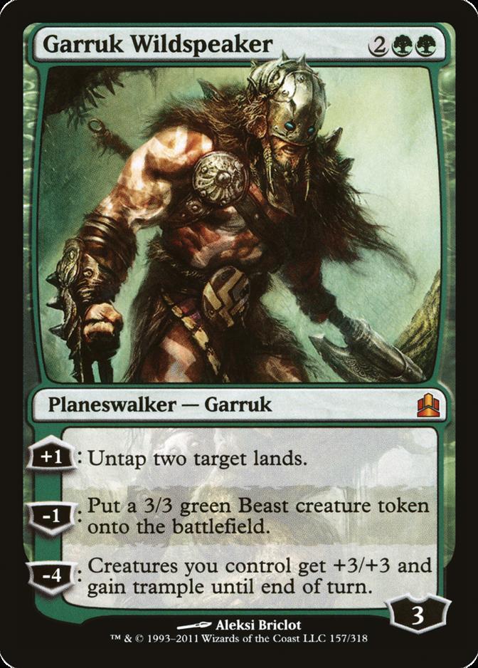 Garruk Wildspeaker [CMD]
