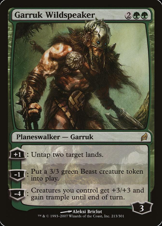 Garruk Wildspeaker [LRW] (F)
