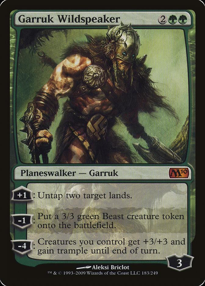 Garruk Wildspeaker [M10]