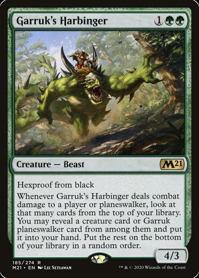 Garruk's Harbinger [M21]