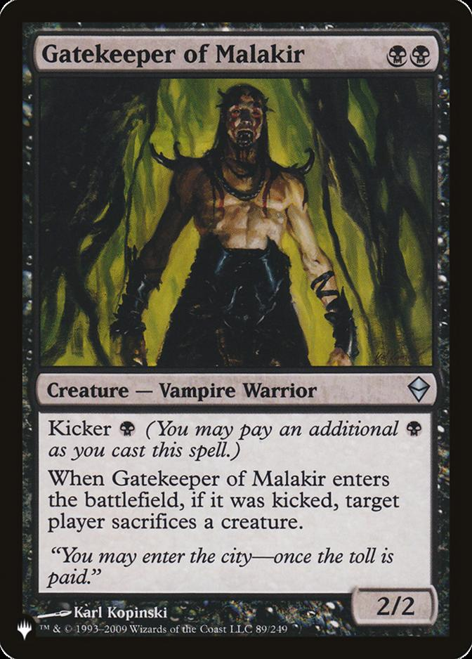 Gatekeeper of Malakir [PLIST]