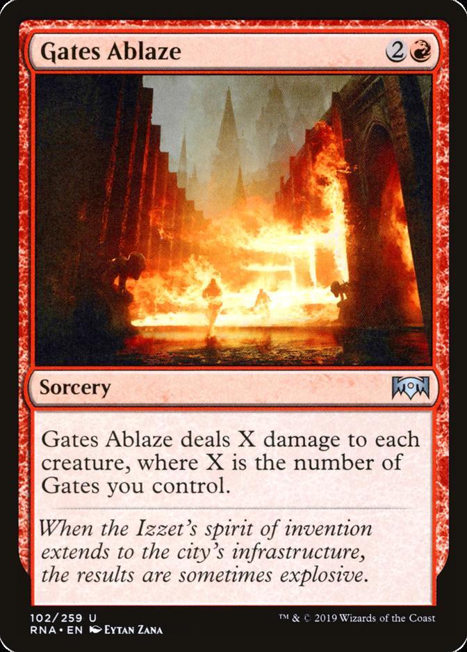 Gates Ablaze [RNA]