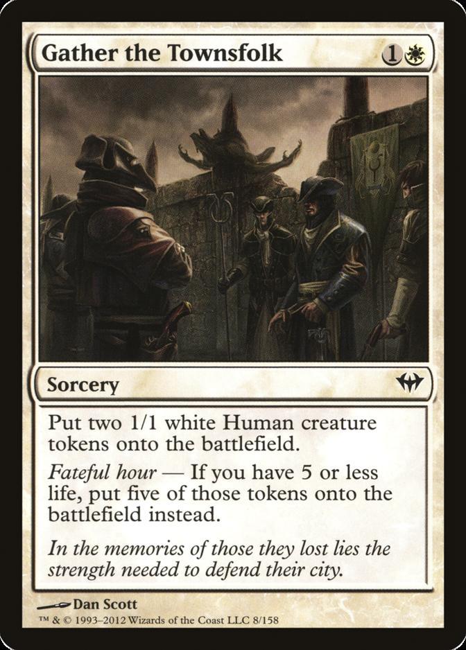 Gather the Townsfolk [DKA]