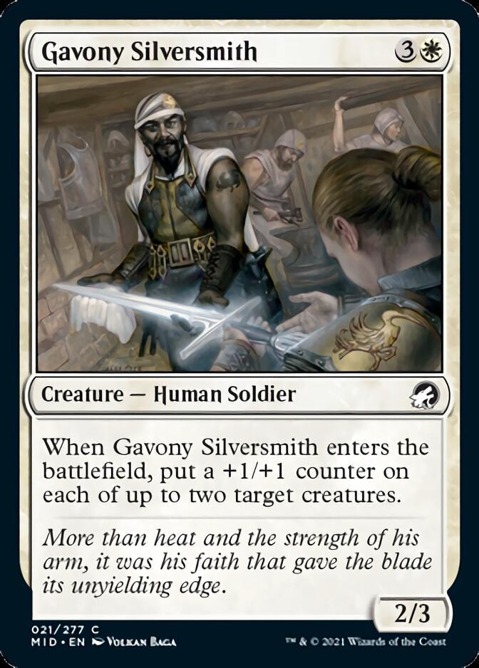 Gavony Silversmith [MID]