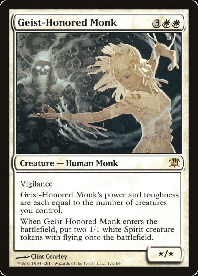Geist-Honored Monk [ISD]