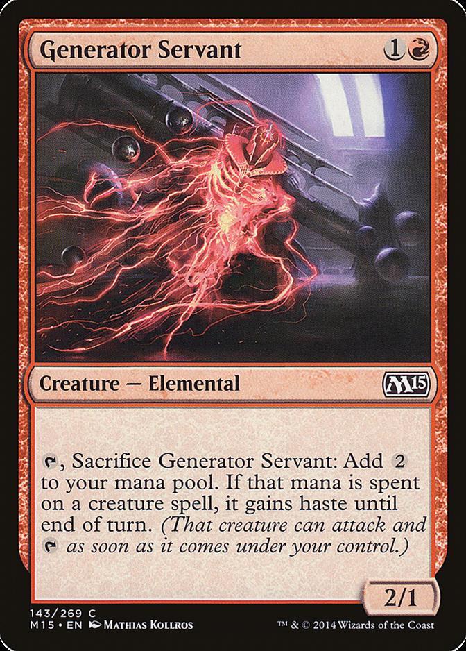 Generator Servant [M15]