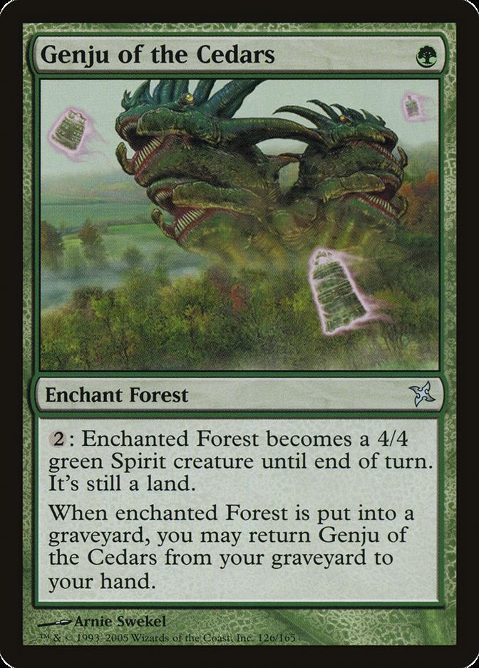 Genju of the Cedars [BOK]