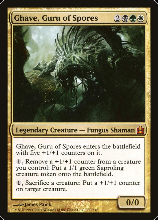 Ghave, Guru of Spores [CMD]