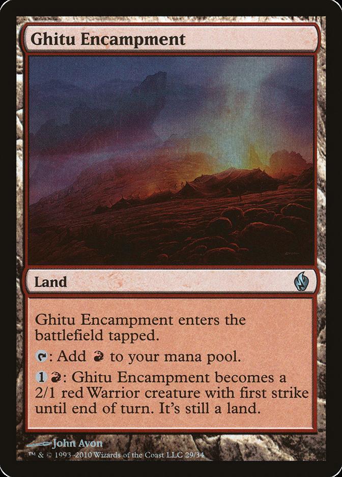 Ghitu Encampment [PD2] (F)