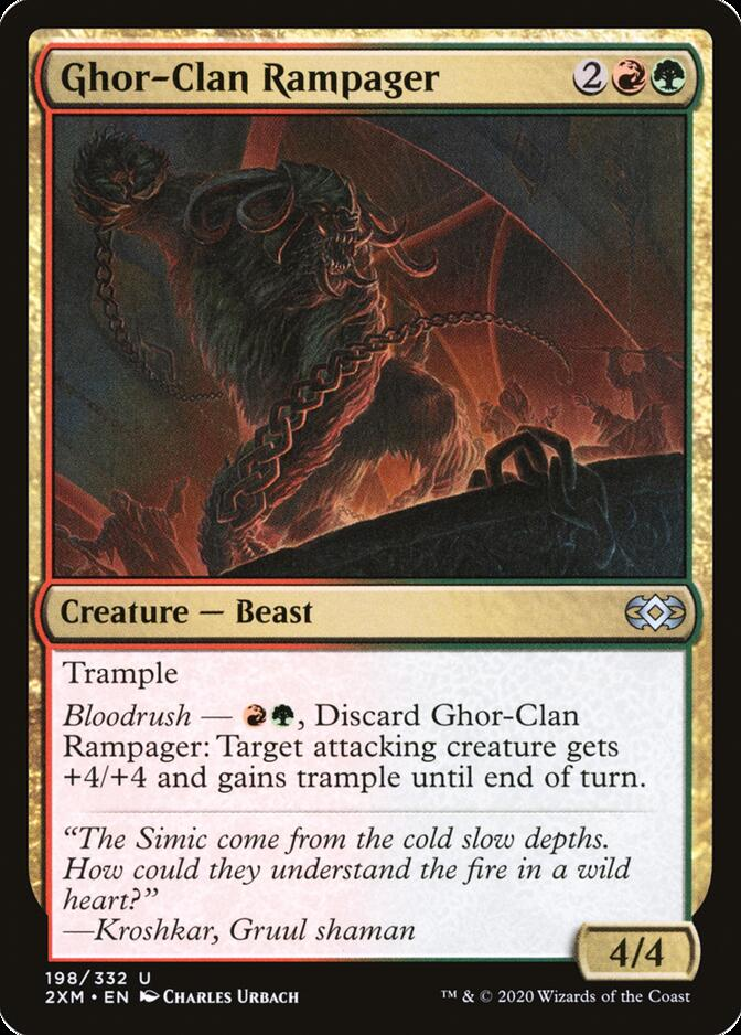 Ghor-Clan Rampager [2XM]