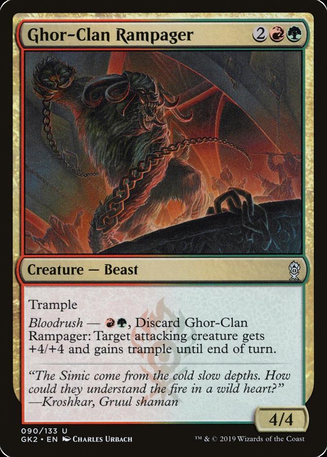 Ghor-Clan Rampager [GK2]