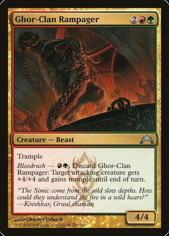 Ghor-Clan Rampager [GTC] (F)