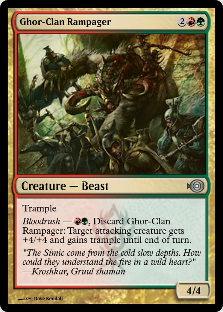 Ghor-Clan Rampager [PRM]