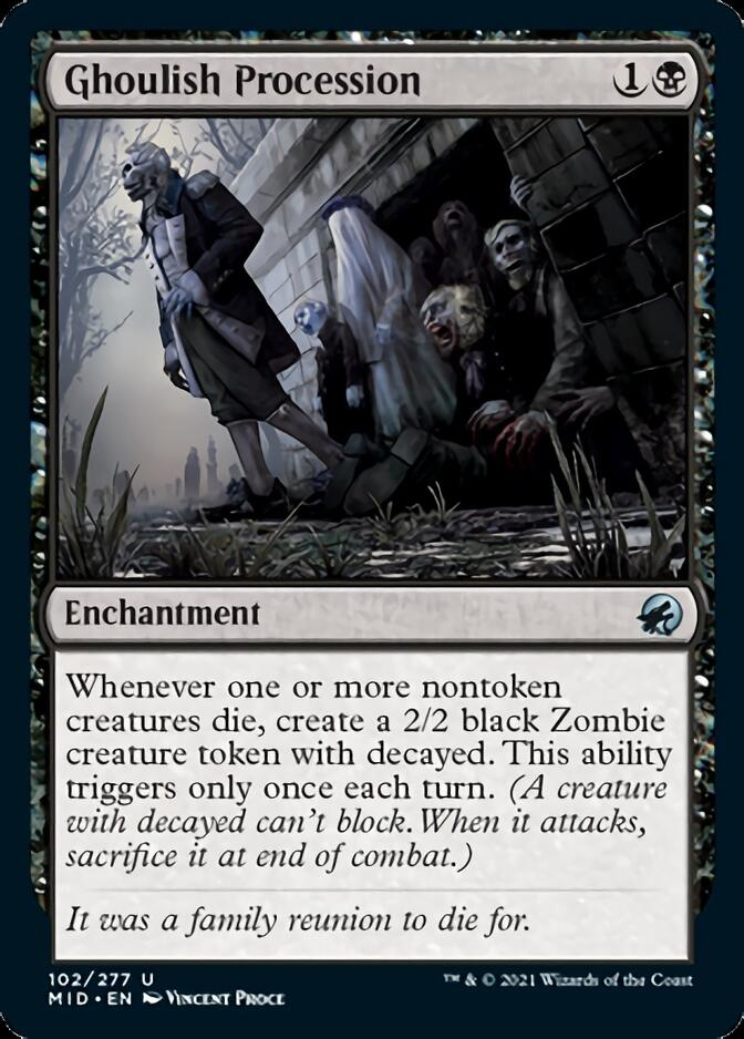 Ghoulish Procession [MID]