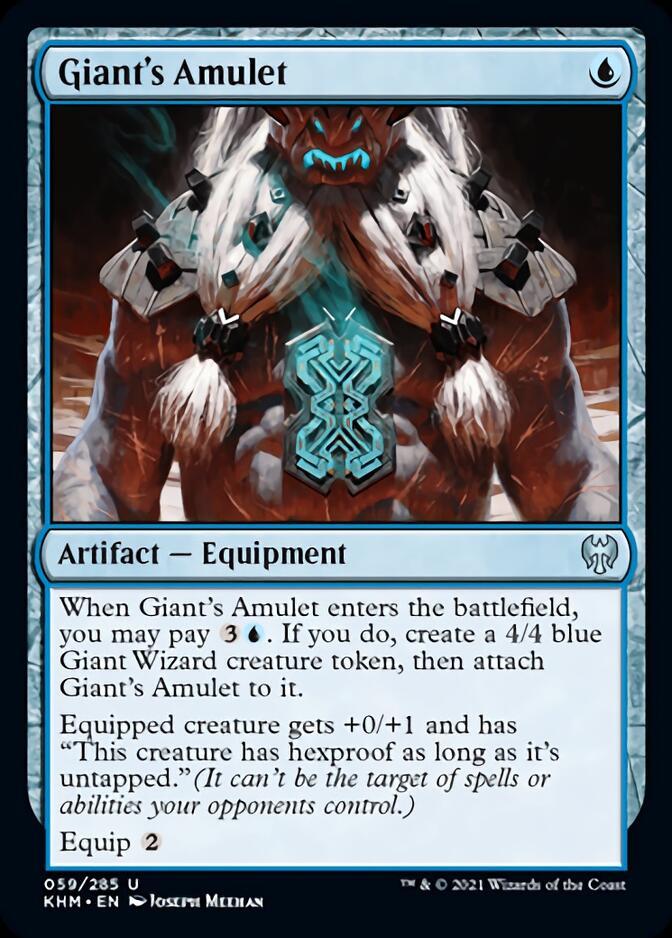 Giant's Amulet [KHM]