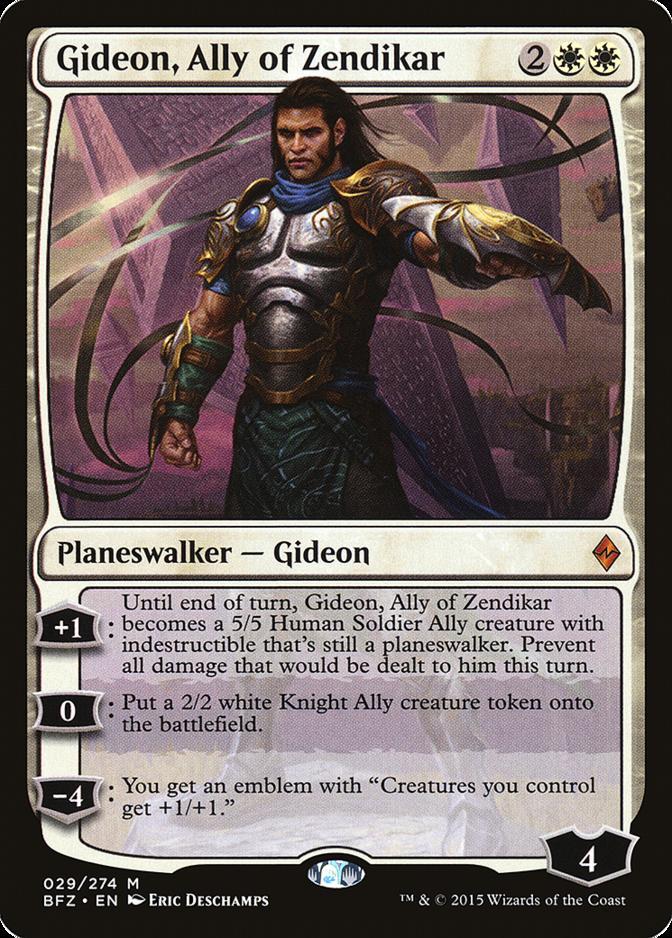 Gideon, Ally of Zendikar [BFZ]