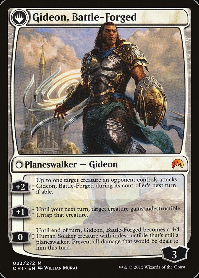 Gideon, Battle-Forged [ORI]