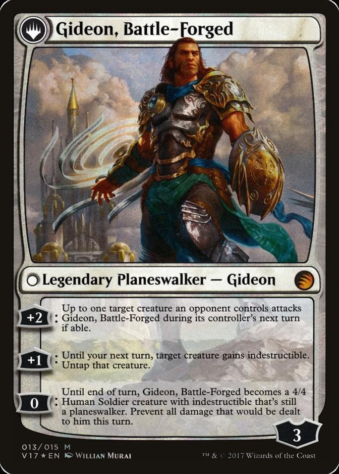 Gideon, Battle-Forged [V17] (F)