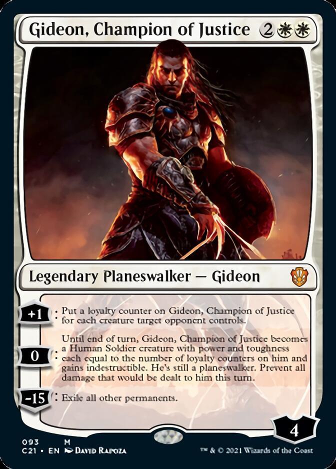Gideon, Champion of Justice [C21]