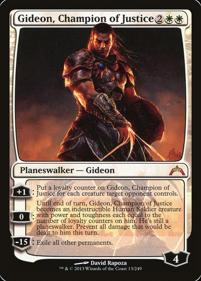 Gideon, Champion of Justice [GTC]