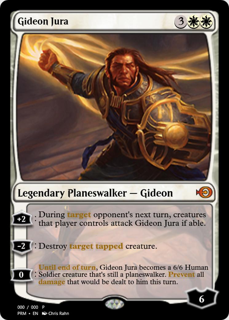 Gideon Jura [PRM] (F)