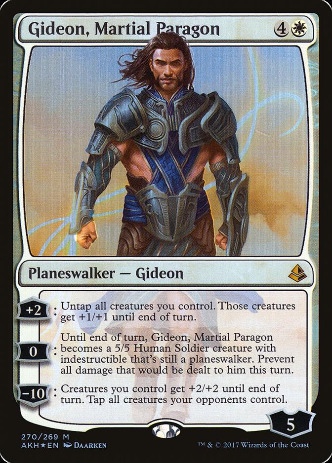 Gideon, Martial Paragon [AKH] (F)