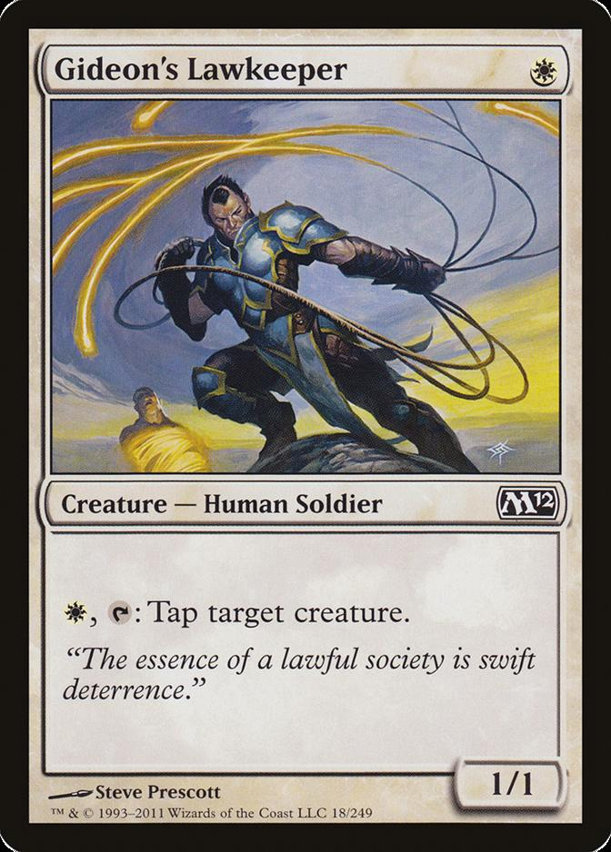 Gideon's Lawkeeper [M12] (F)