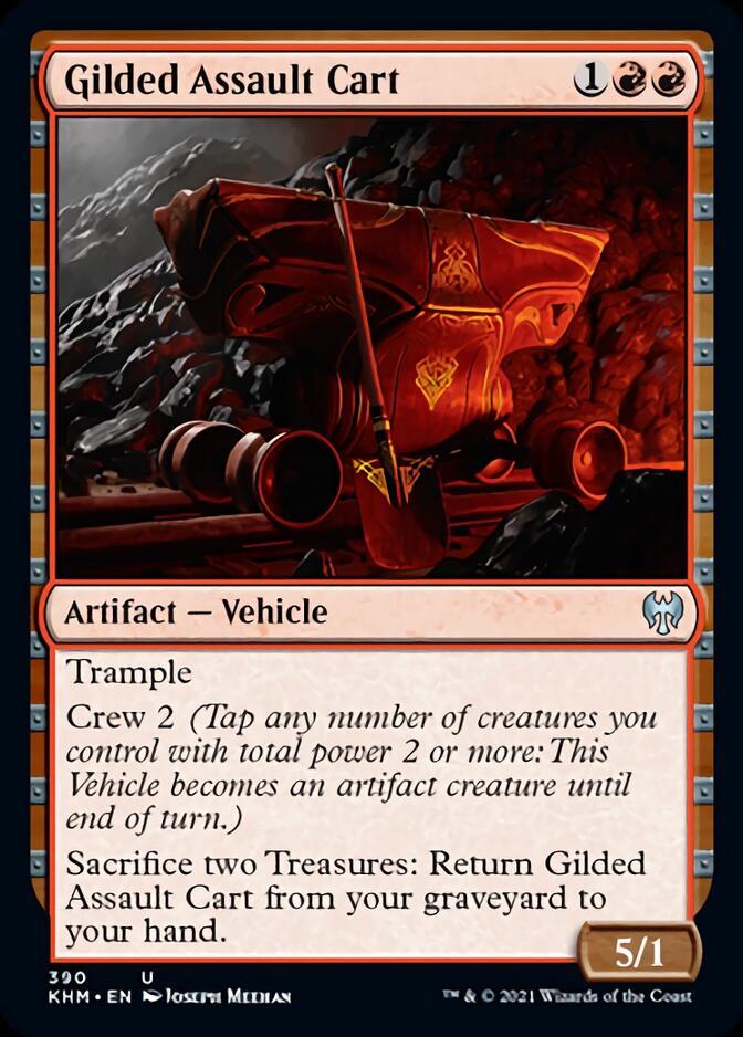 Gilded Assault Cart [KHM]