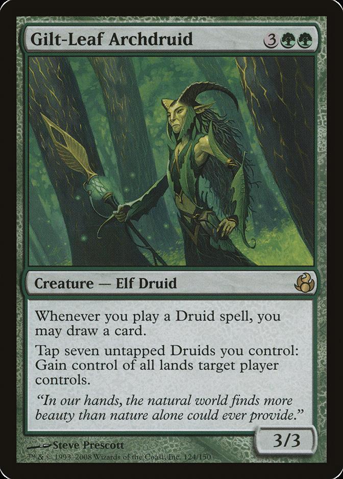 Gilt-Leaf Archdruid [MOR]