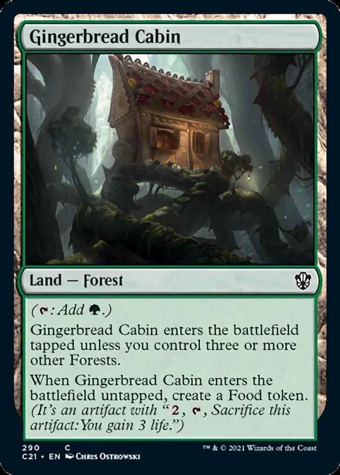 Gingerbread Cabin [C21]