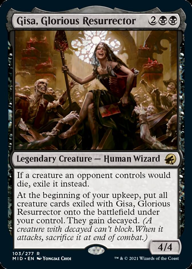 Gisa, Glorious Resurrector [MID]