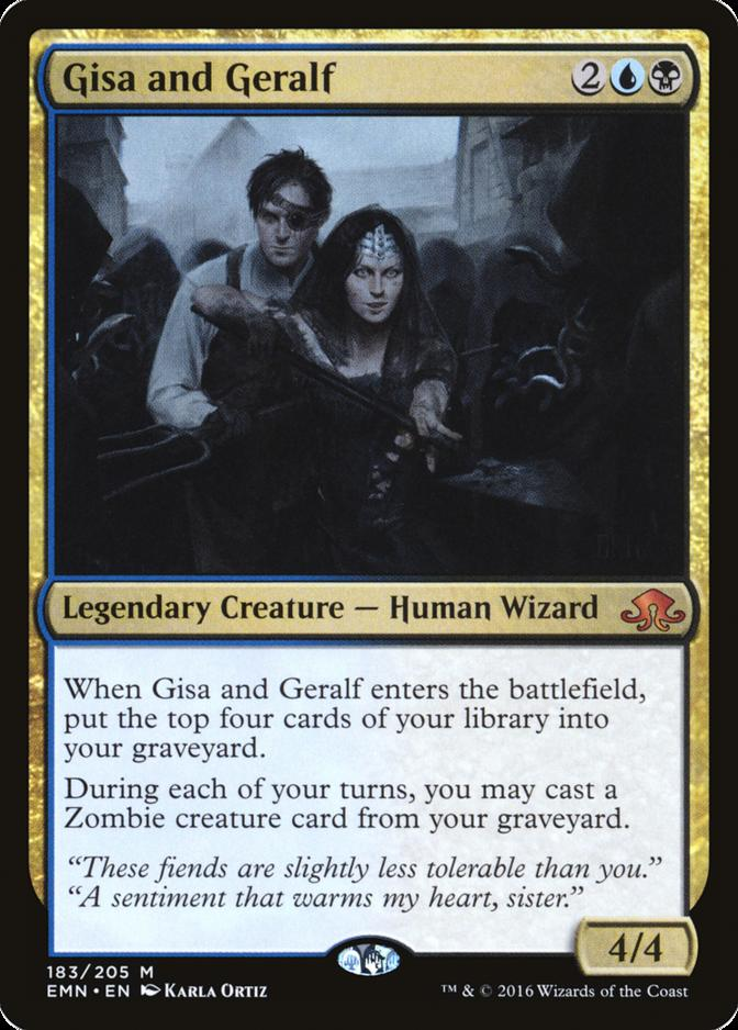 Gisa and Geralf [EMN]