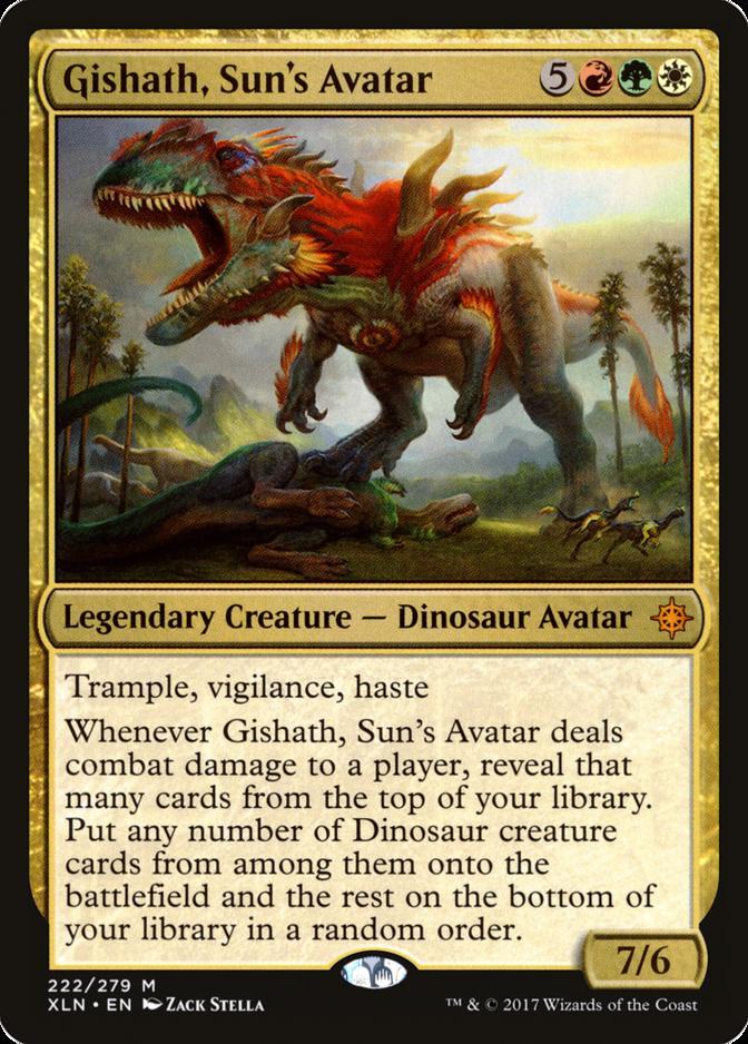 Gishath, Sun's Avatar [XLN]