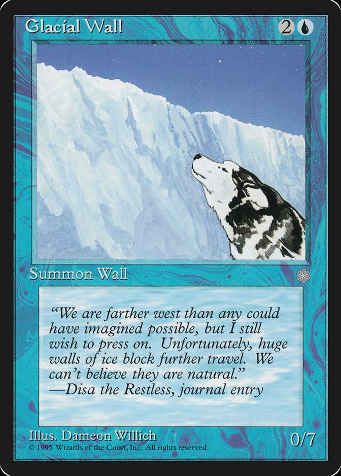 Glacial Wall [ICE]