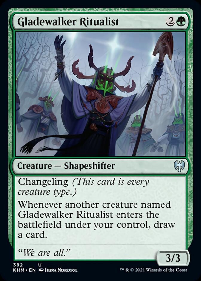 Gladewalker Ritualist [KHM]