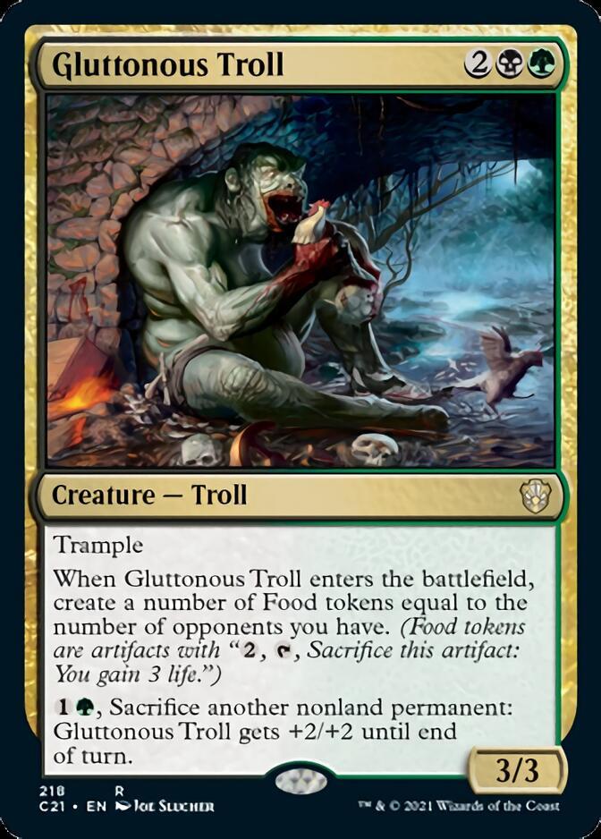 Gluttonous Troll [C21]