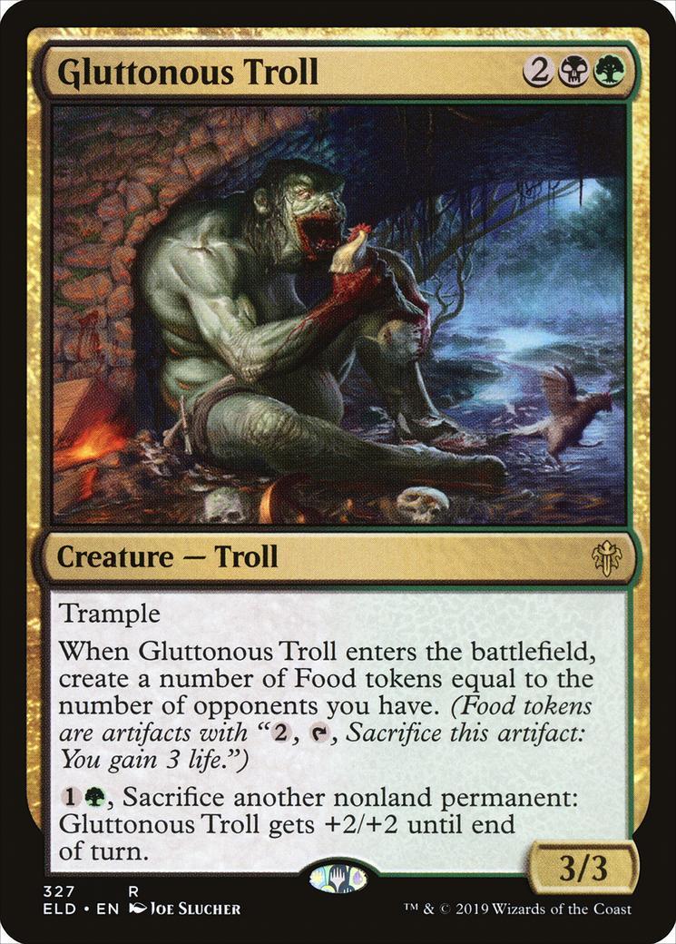 Gluttonous Troll [ELD]