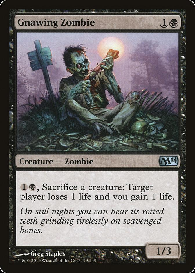 Gnawing Zombie [M14] (F)