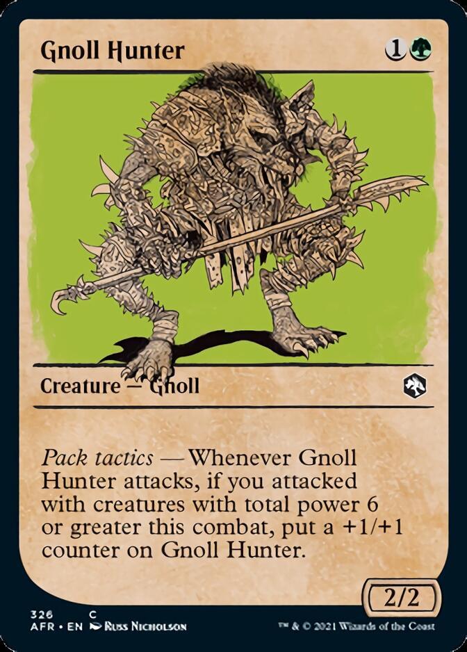 Gnoll Hunter <showcase> [AFR]