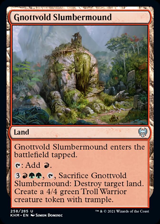 Gnottvold Slumbermound [KHM]