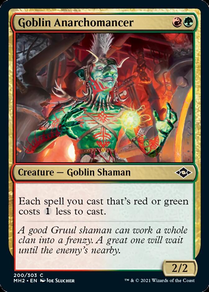 Goblin Anarchomancer [J21]
