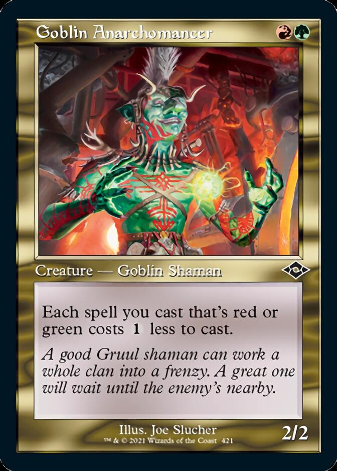 Goblin Anarchomancer <retro> [MH2]