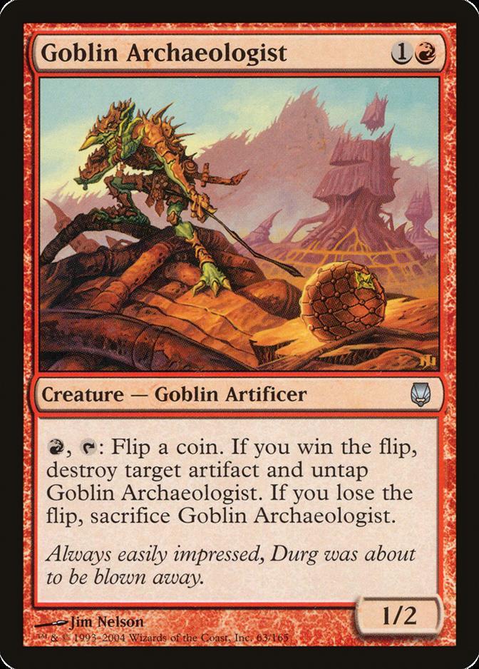 Goblin Archaeologist [DST] (F)